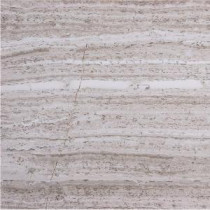 Haisa Marble Light 12 in. x 12 in. Natural Stone Floor and Wall Tile (10 sq. ft. / case)