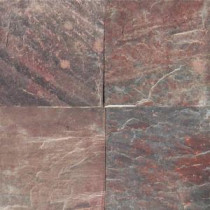 Copper Fire 12 in. x 12 in. Honed Quartzite Floor and Wall Tile (10 sq. ft. / case)