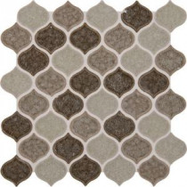 Taza Blend 12 in. x 12 in. x 8 mm Glass Mesh-Mounted Mosaic Tile (10 sq. ft. / case)