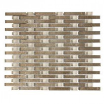 Sphynx 11 in. x 13.25 in. x 8 mm Glass Mosaic Wall Tile