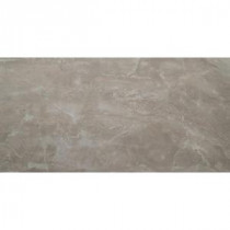 Onyx Pearl 12 in. x 24 in. Polished Porcelain Floor and Wall Tile (16 sq. ft. / case)