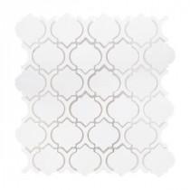 Xoxo 11 in. x 11-1/2 in. x 8 mm Ceramic Mosaic Tile
