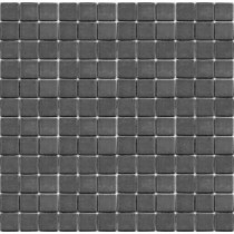 Teaz Earl Grey-1202 Mosiac Recycled Glass Mesh Mounted Floor and Wall Tile - 3 in. x 3 in. Tile Sample