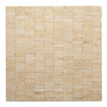 Post Modern Sisley 12 in. x 12 in. x 6.35 mm Marble Mesh-Mounted Mosaic Wall Tile (10 sq. ft. / case)