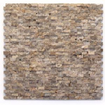 Modern Opera 12 in. x 12 in. x 9.5 mm Marble Natural Stone Mesh-Mounted Mosaic Wall Tile (10 sq. ft. / case)